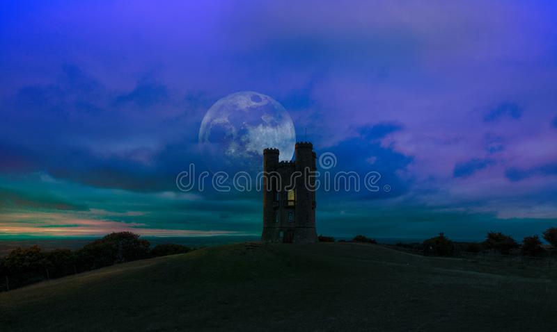 Broadwaytoren, Worcestershire Engeland O.k. royalty-vrije stock afbeelding