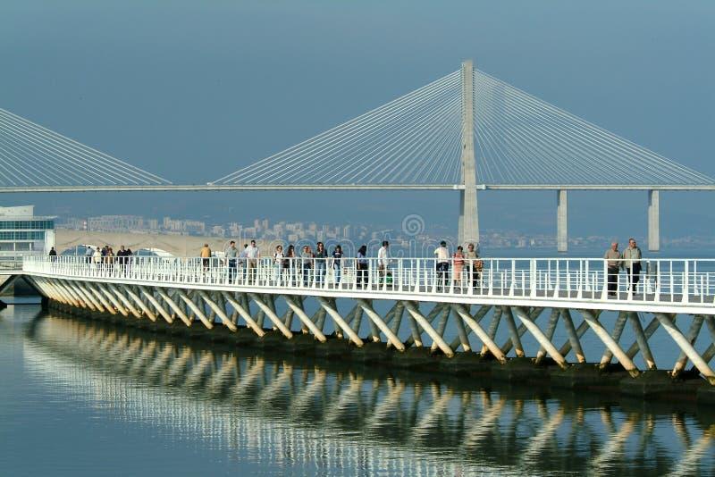 Download Broar fotografering för bildbyråer. Bild av liggande, konstruktion - 281031