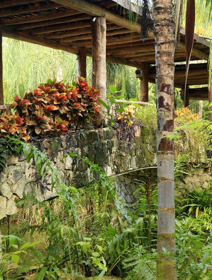 Broarna på Vidanta Riviera Maya arkivbilder
