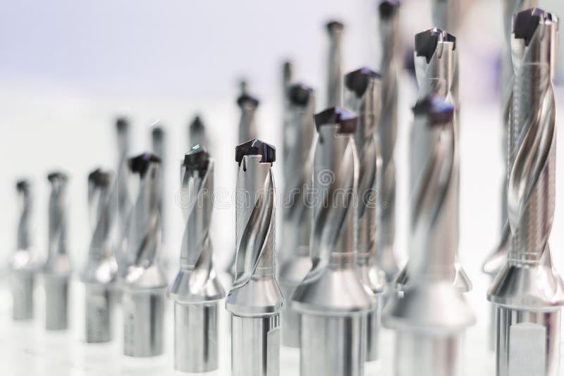 Brocas para o processamento do metal imagem de stock