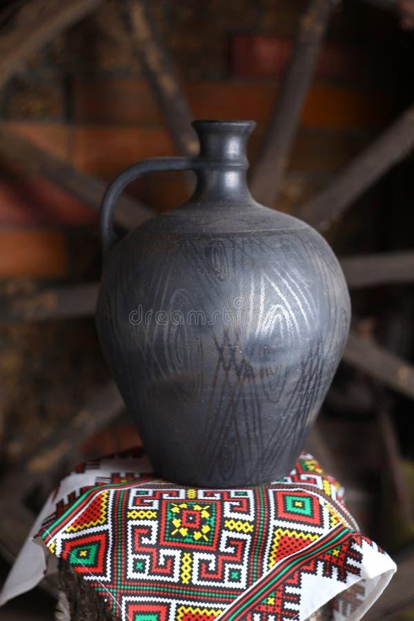Brocca casalinga tradizionale fotografia stock