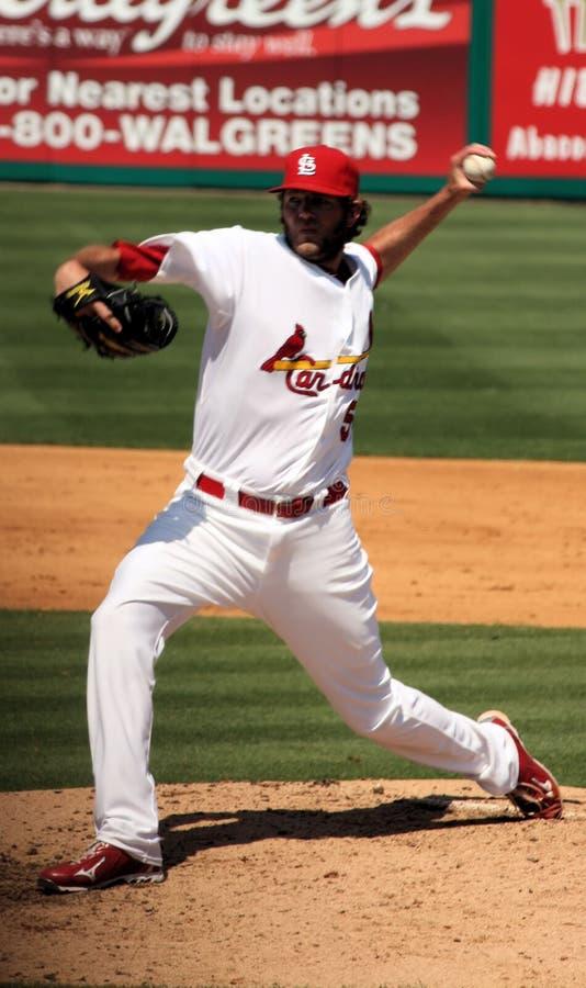 Brocca dei cardinali di MLB St. Louis fotografia stock