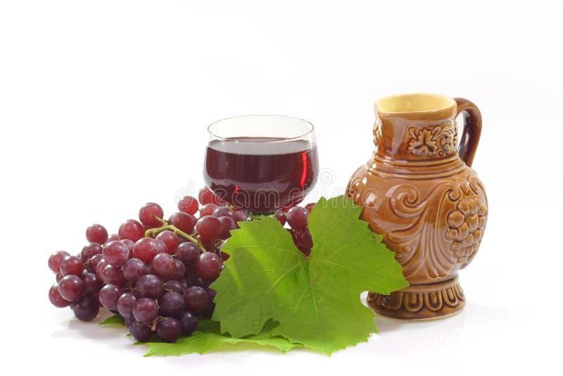 Brocca del vino immagine stock