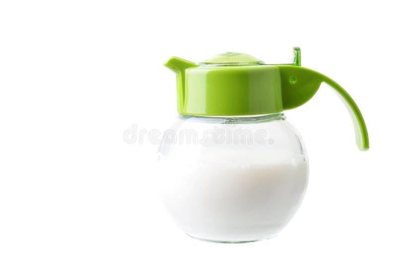 Brocca di latte immagine stock libera da diritti