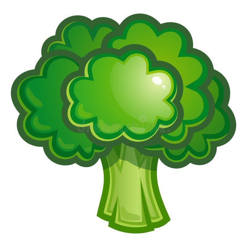 Broccoli illustration de vecteur