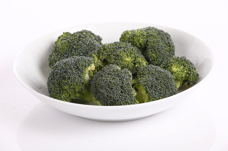 Broccoli. Very fresh and raw broccoli stock photos