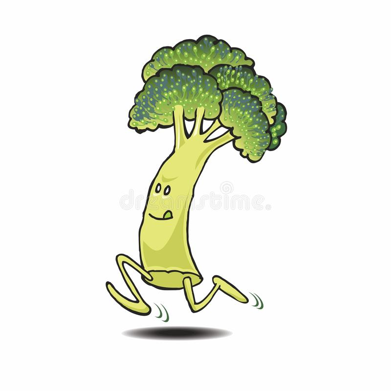 Broccoli illustration stock