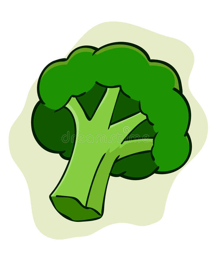 Broccoli royalty-vrije illustratie