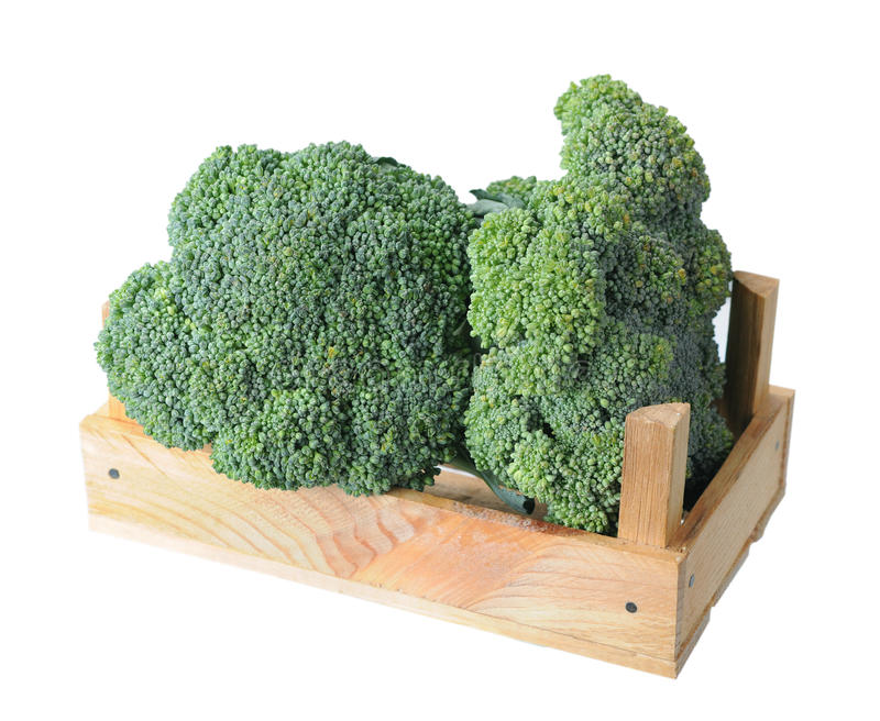Download Broccoli stock image. Image of organic, wooden, green - 34922599