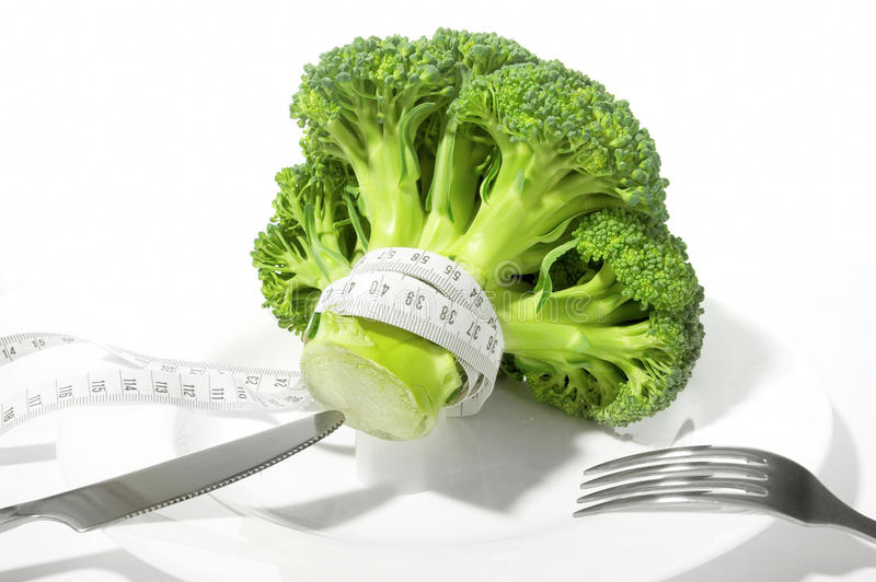 Download Broccoli diet meter stock photo. Image of healthful, organic - 9497264