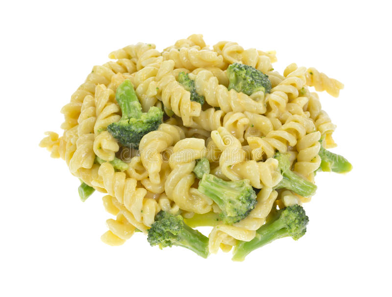 Broccoli en kaasdeegwaren stock foto's
