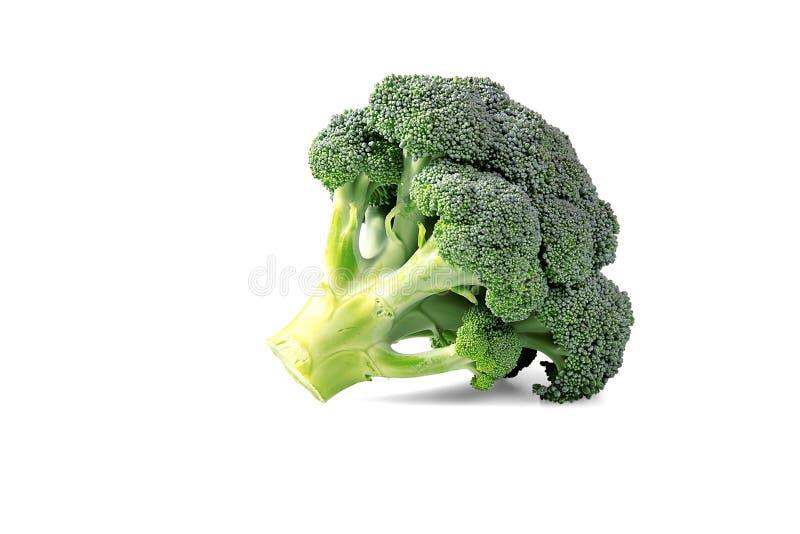 Broccoli frais d'isolement sur le blanc photo libre de droits