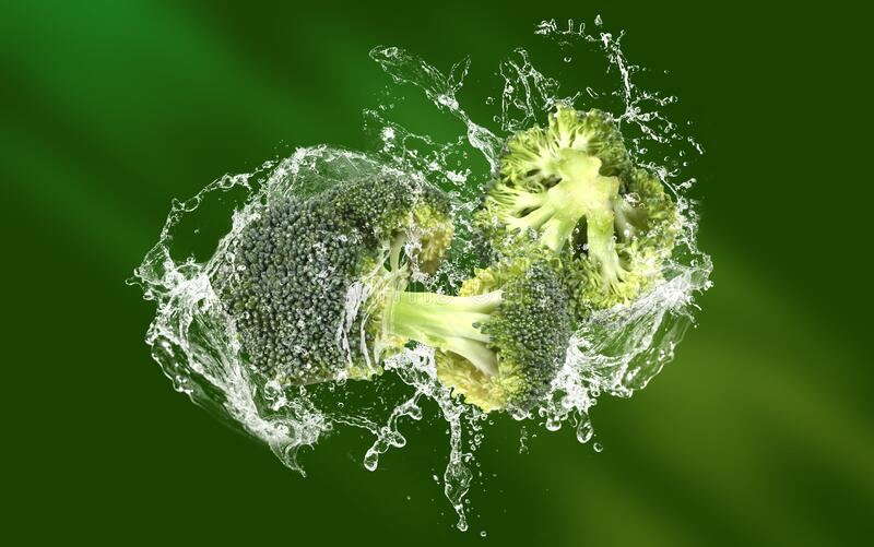 Broccoli - Healthy eating background royalty free stock photography