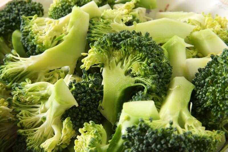 Broccoli pieces stock photos