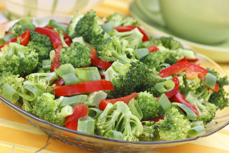 Broccoli salad royalty free stock photo