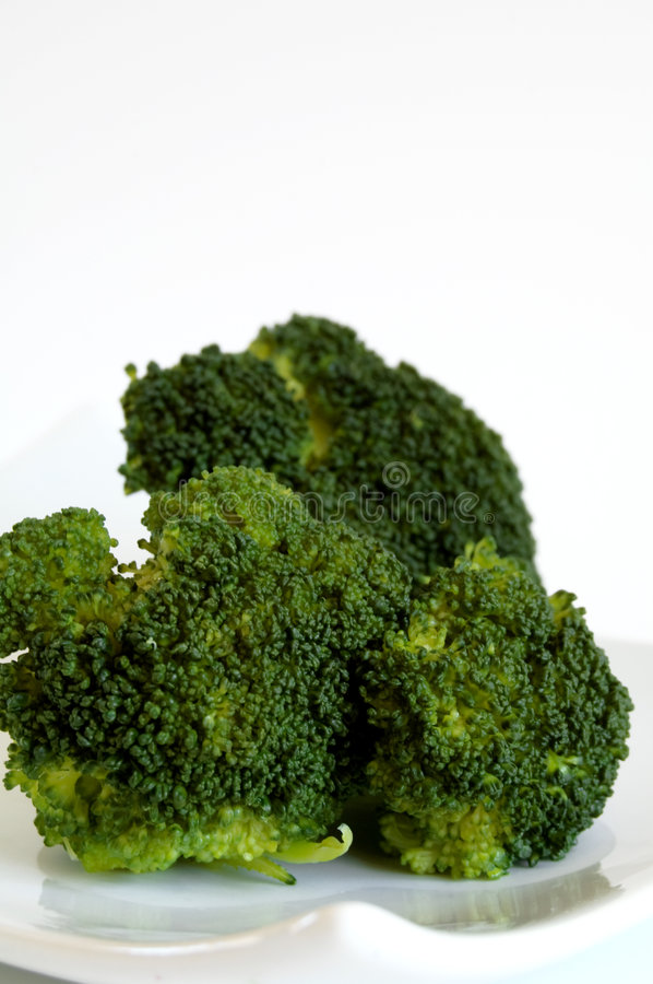 broccoligreen royaltyfria bilder