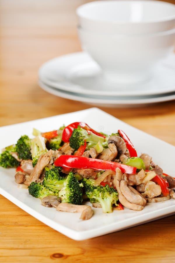 broccolihöna royaltyfria bilder