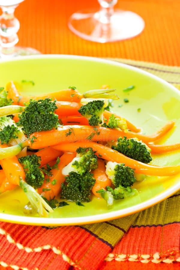 broccolimorötter royaltyfria bilder