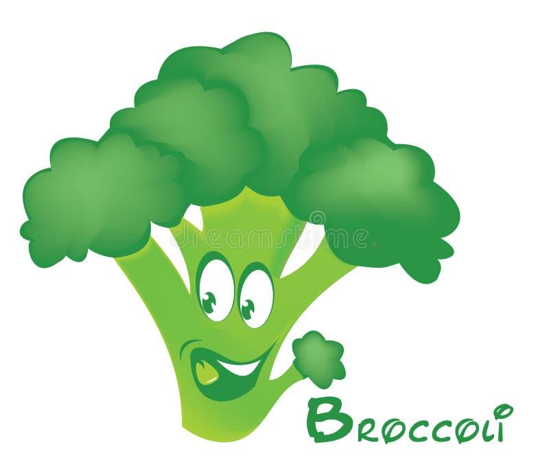 Broccolismile arkivbild