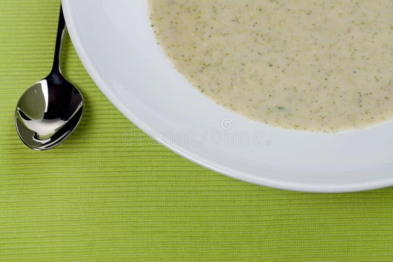 broccolisoup fotografering för bildbyråer