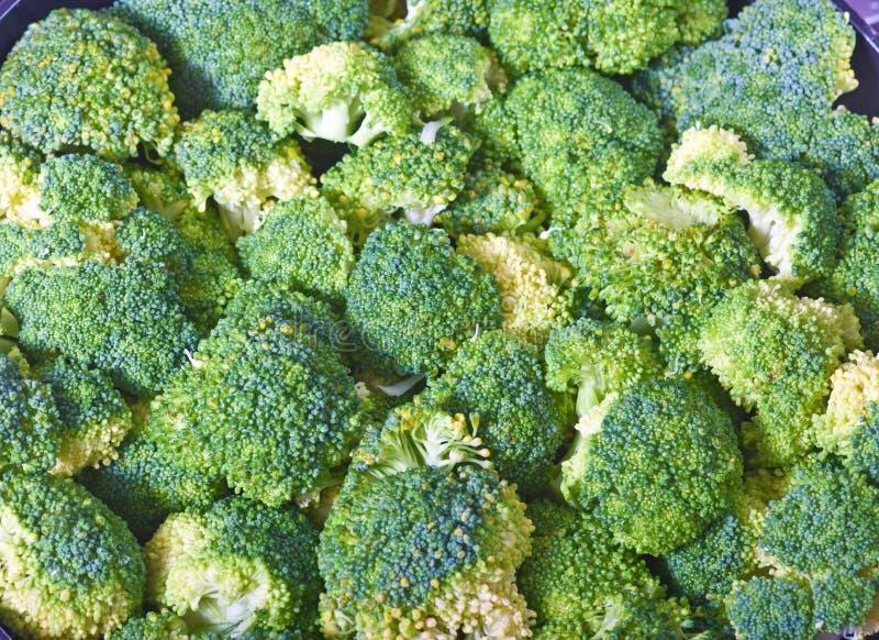 Broccolli background stock photo