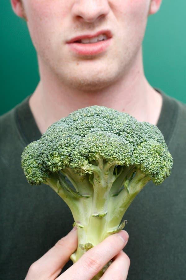 Broccolo di avversione fotografie stock