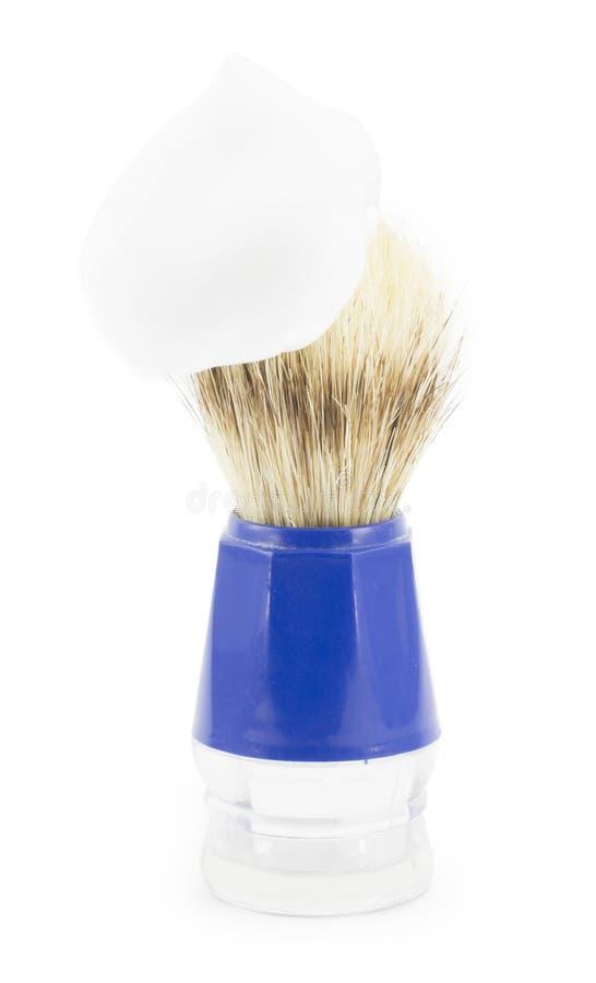 Brocha de afeitar imagen de archivo