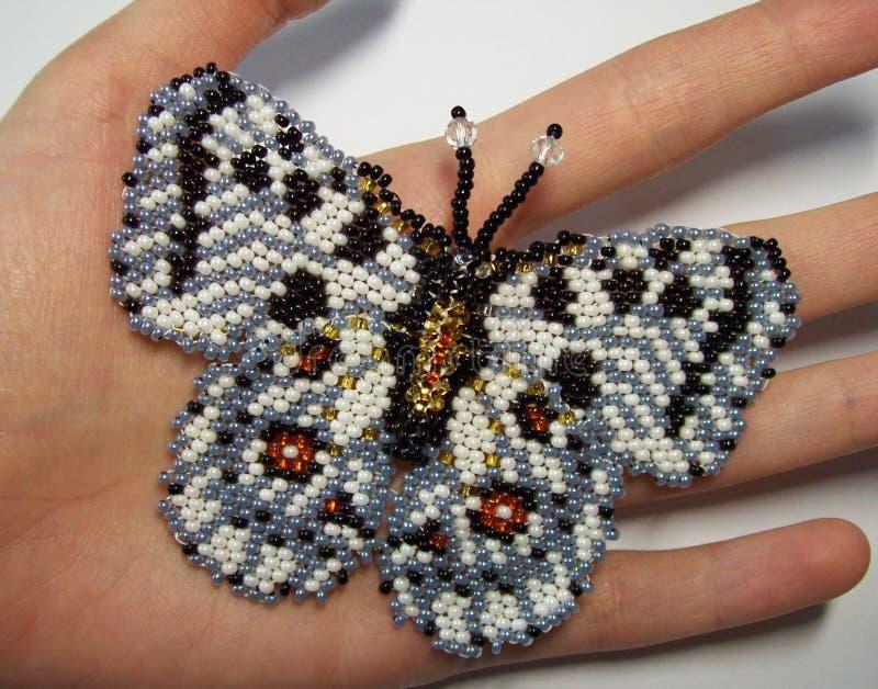 Broche Apollo de papillon photo stock
