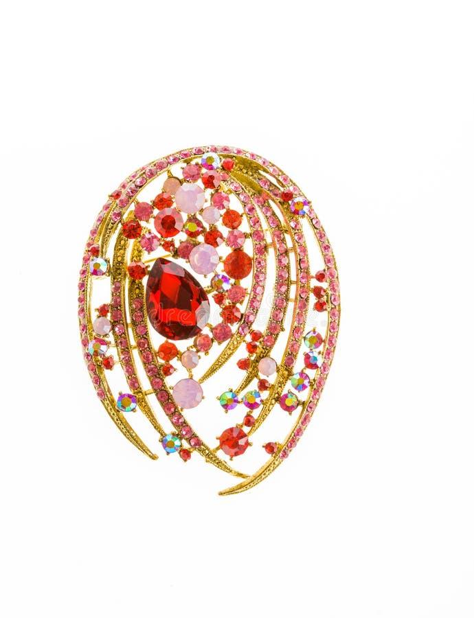 Broche chère de bijoux photo stock