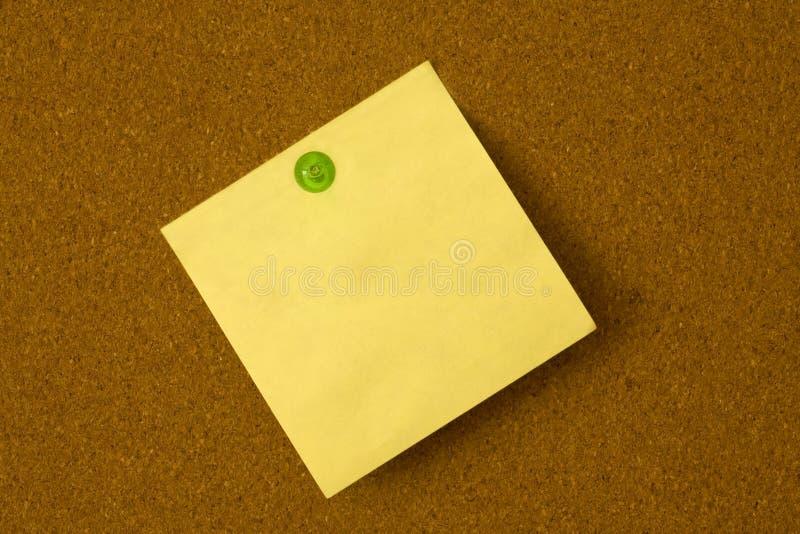 Download Broche De Post-it Et De Vert Image stock - Image du note, thumbtack: 8670185