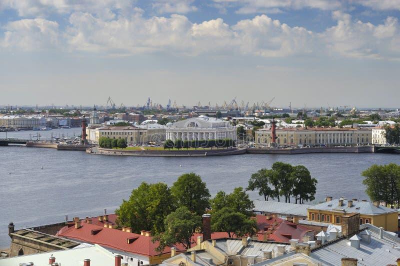 Broche de Vasilyevsky Island petersburg image stock