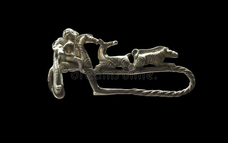 Broche que pertence ao Iberian Roman Culture foto de stock