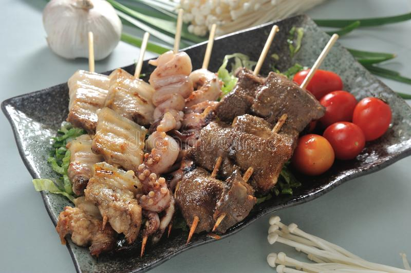 brochette photos stock