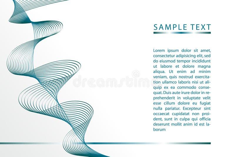 Brochure 02 stock illustration