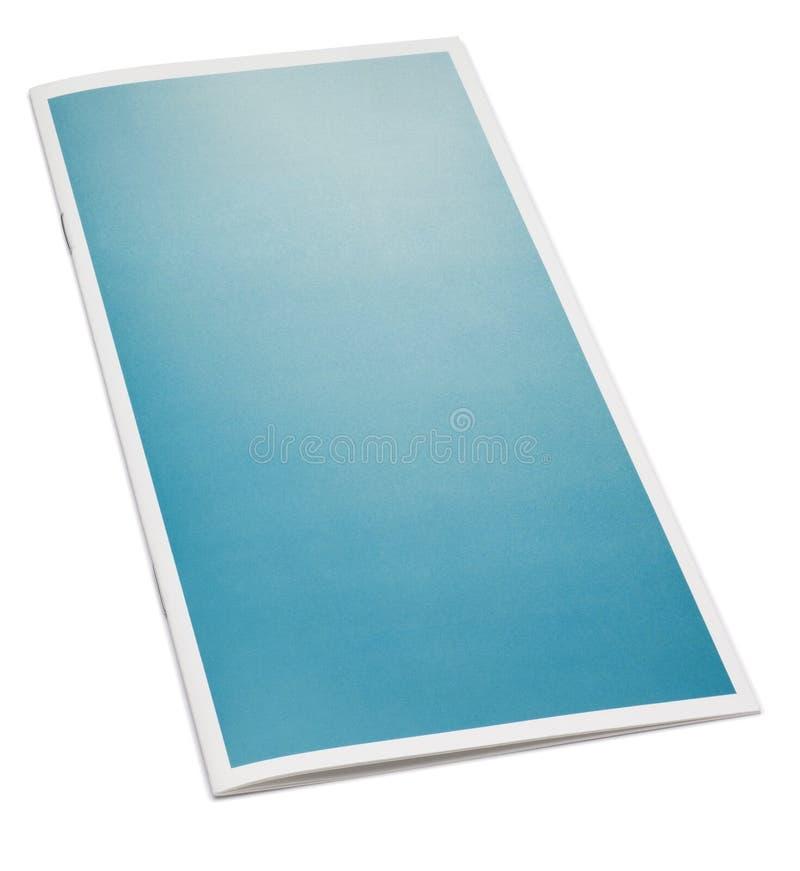 Brochure blanc photo libre de droits