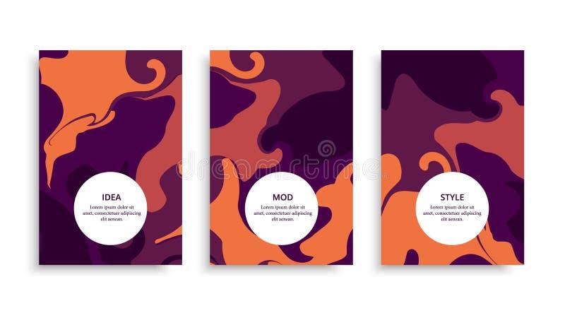 Brochure-color-spot royalty free illustration