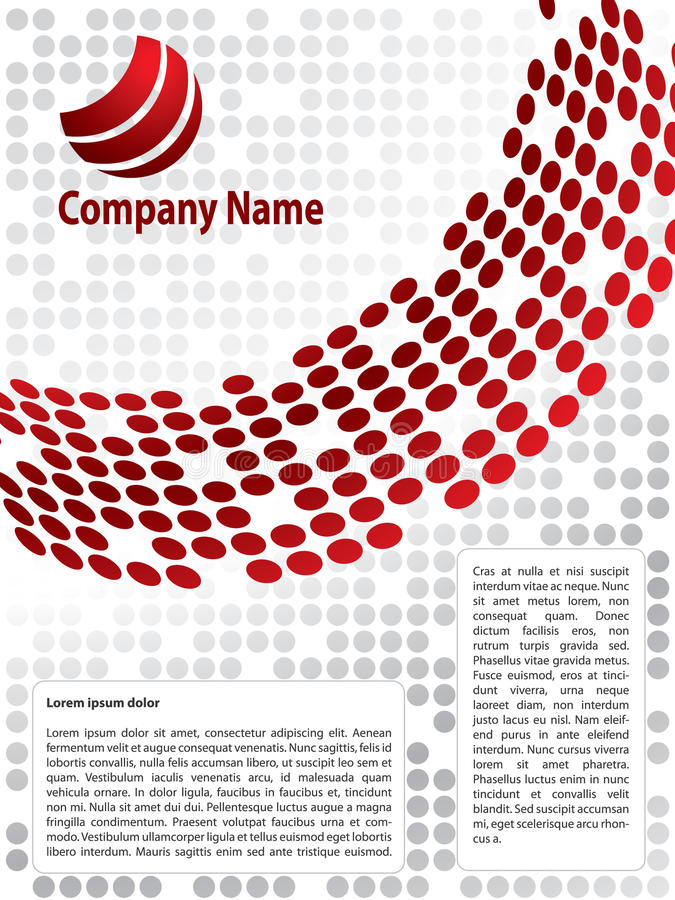 Brochure Design Stock Photos