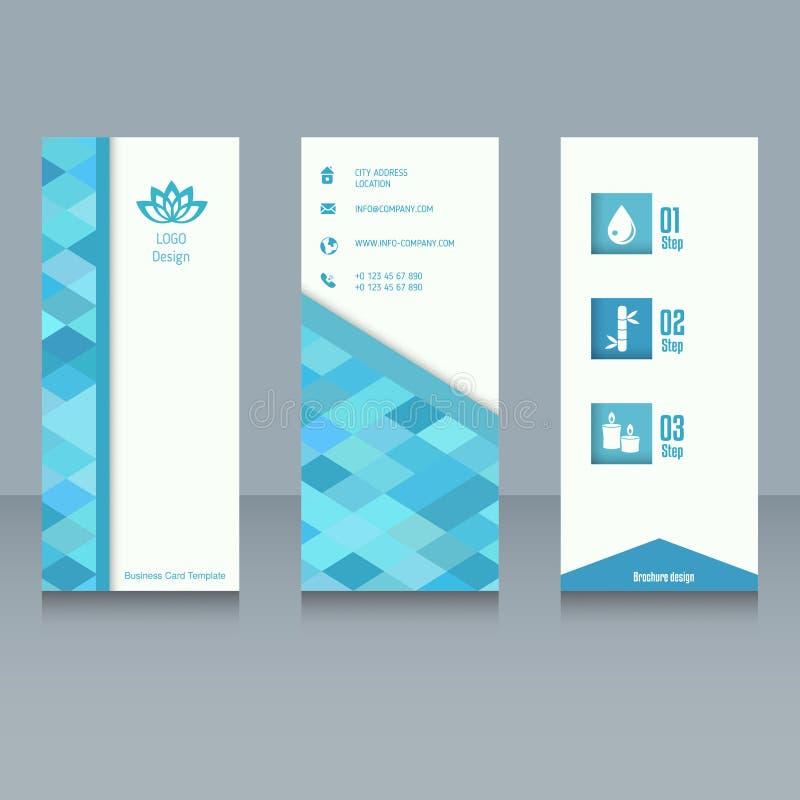 Brochure design template vector illustration