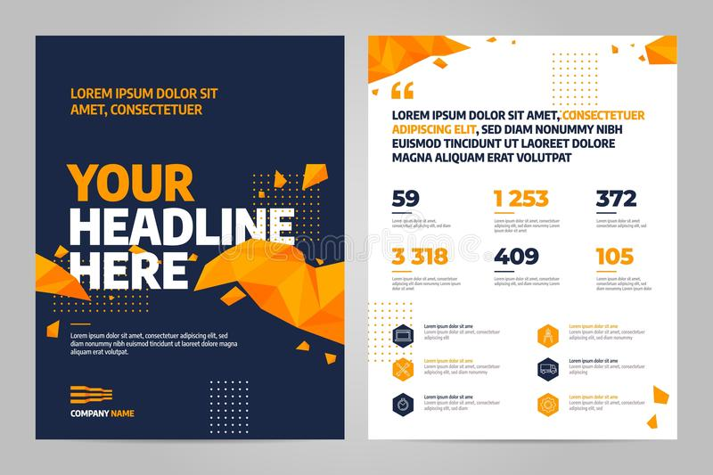 Brochure design template vector. Abstract square cover book portfolio presentation. Flyers report business magazine and minimal poster