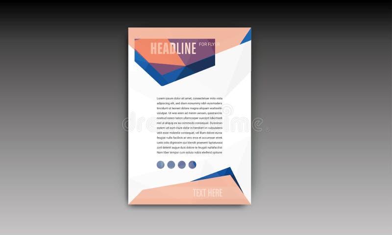 Brochure Flyer Template stock photos