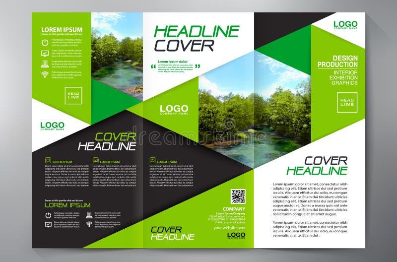 Brochure 3 fold flyer design a4 template stock vector business brochure flyer design leaflets 3 fold template cover book and magazine annual report vector illustration saigontimesfo
