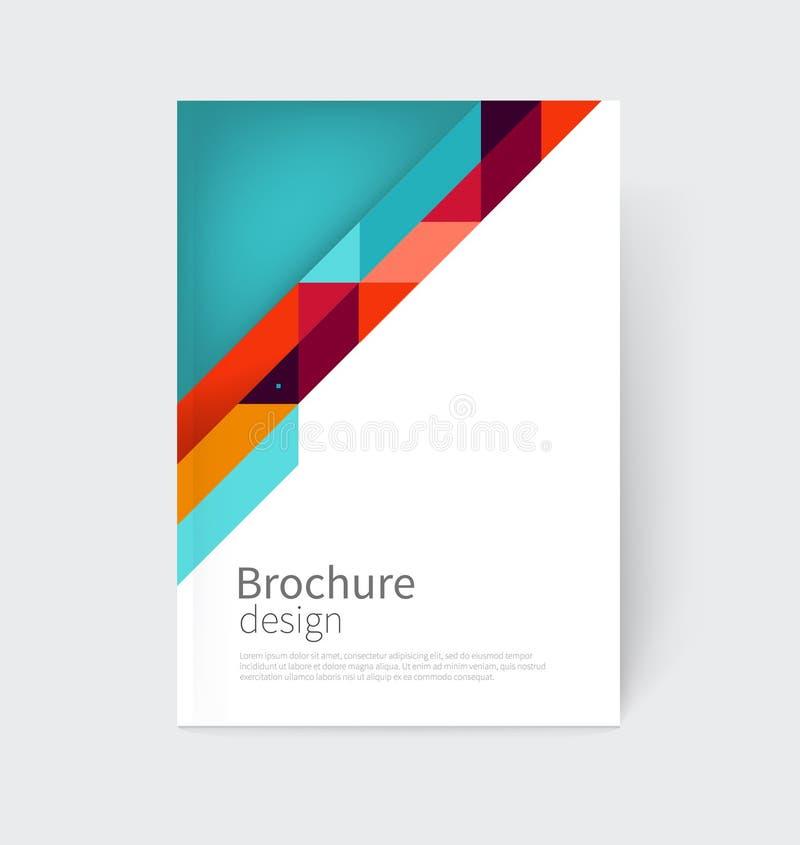 Brochure leaflet flyer poster template cover design for Big cartel design templates