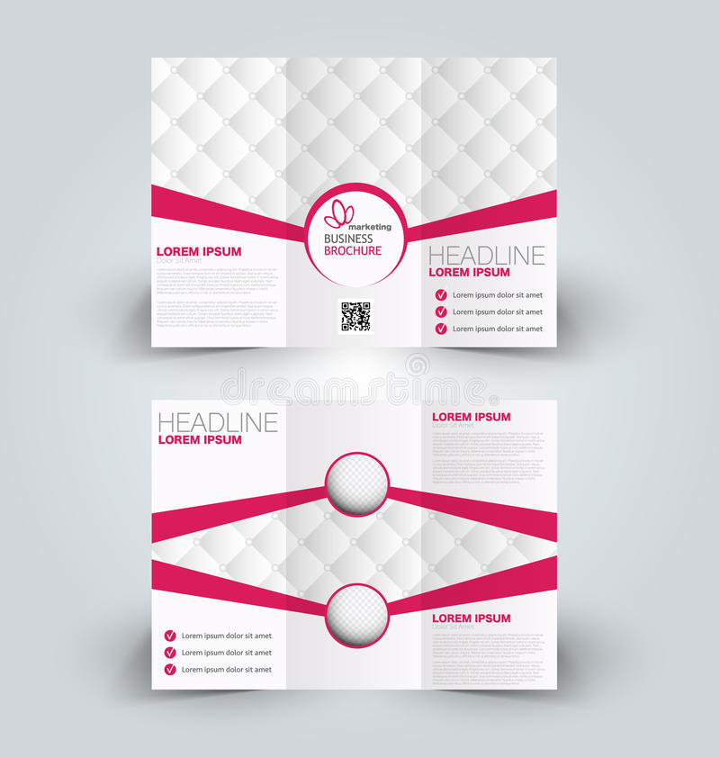 Brochure Mock Up Design Template For Business Education