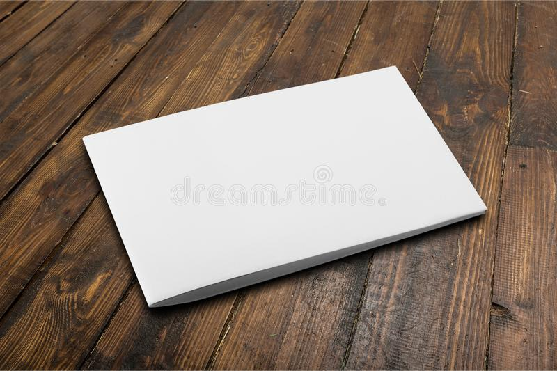 Brochure stock image