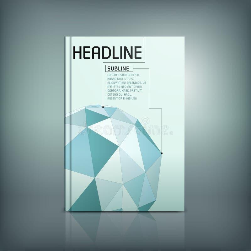 Download Brochure moderne 02 C illustration de vecteur. Illustration du page - 76085088