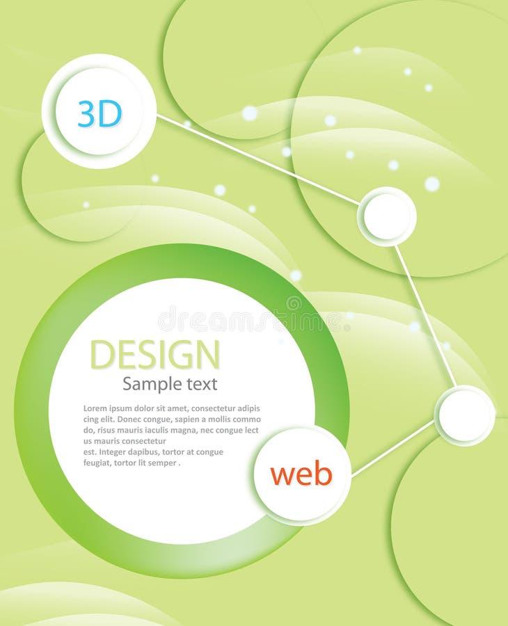 Download Brochure Template stock vector. Image of curve, bent - 22927632