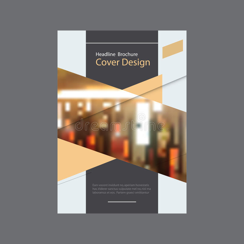 Brochure template business vector layout, cover design annual report, magazine, flyer or booklet with dynamic geometric vector illustration
