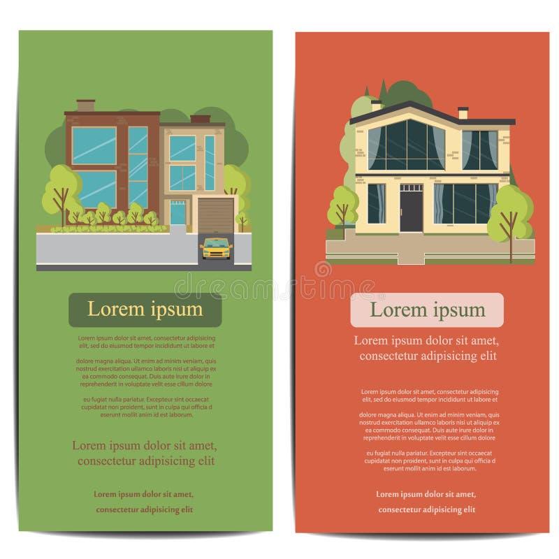 Brochure Template Design Concept Of Architecture Vector