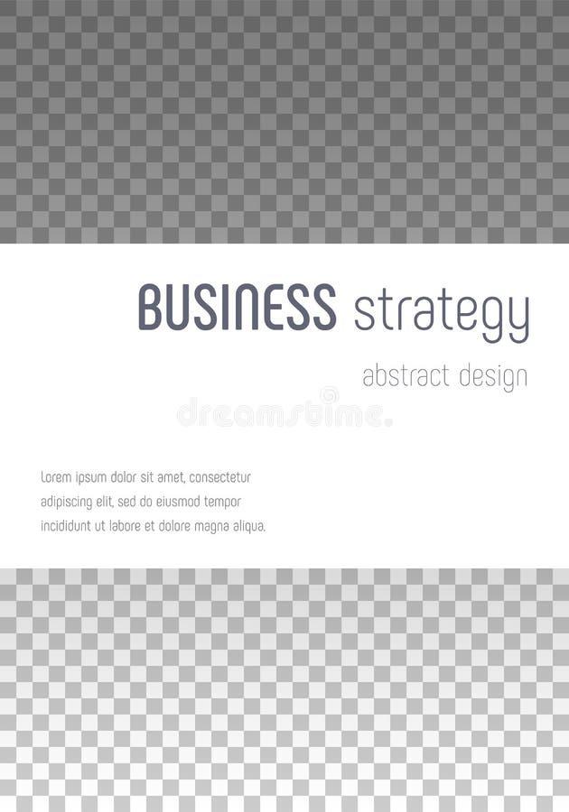 Brochure template design. royalty free illustration