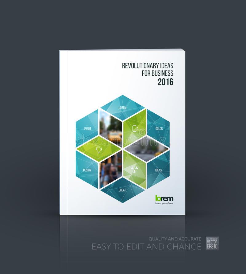 Brochure Template Layout Cover Design Annual Report Magazine - Consulting brochure template